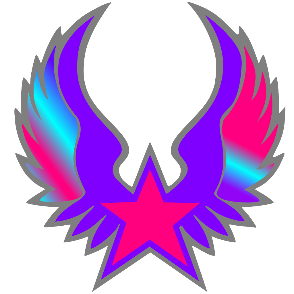 Rock Star SVG Clip arts