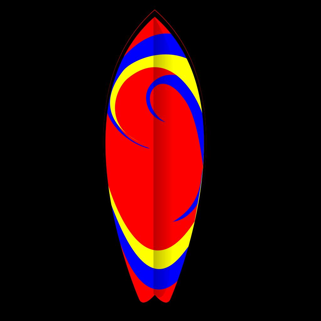 Surfboard Dios Esta Siempre Conmigo SVG Clip arts