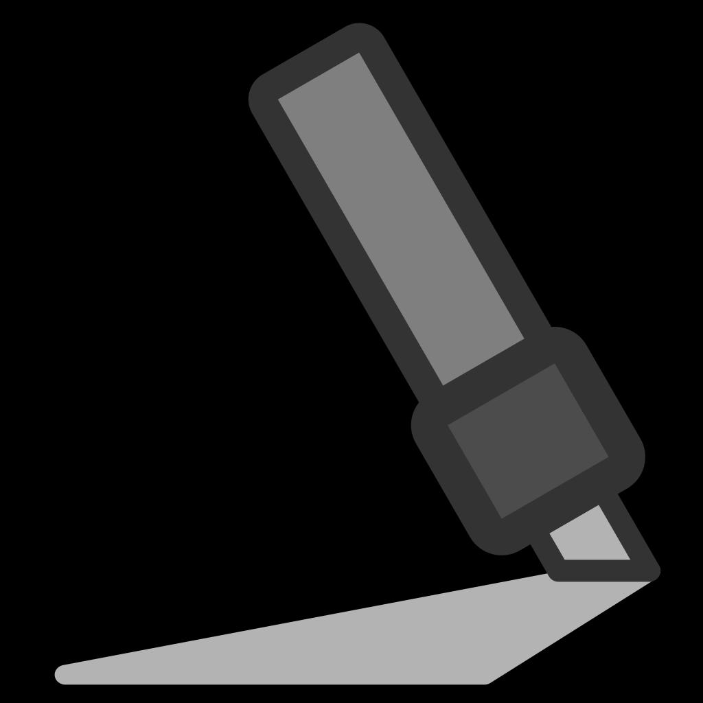 Highlighters SVG Clip arts