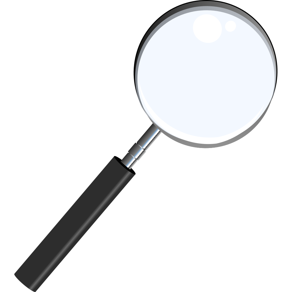 Magnifying Glass PNG, SVG Clip art for Web - Download Clip ...