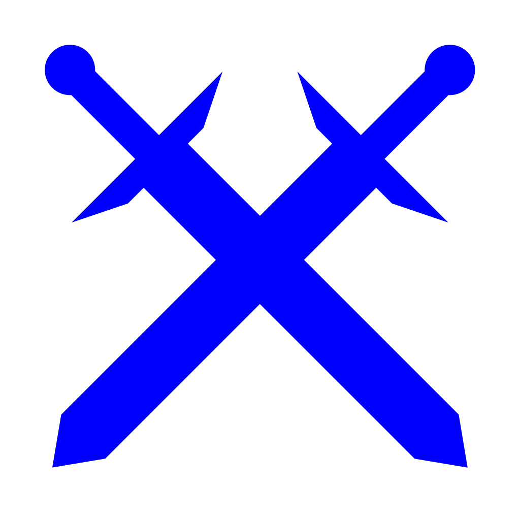 Jonadab Round Sword And Shield SVG Clip arts