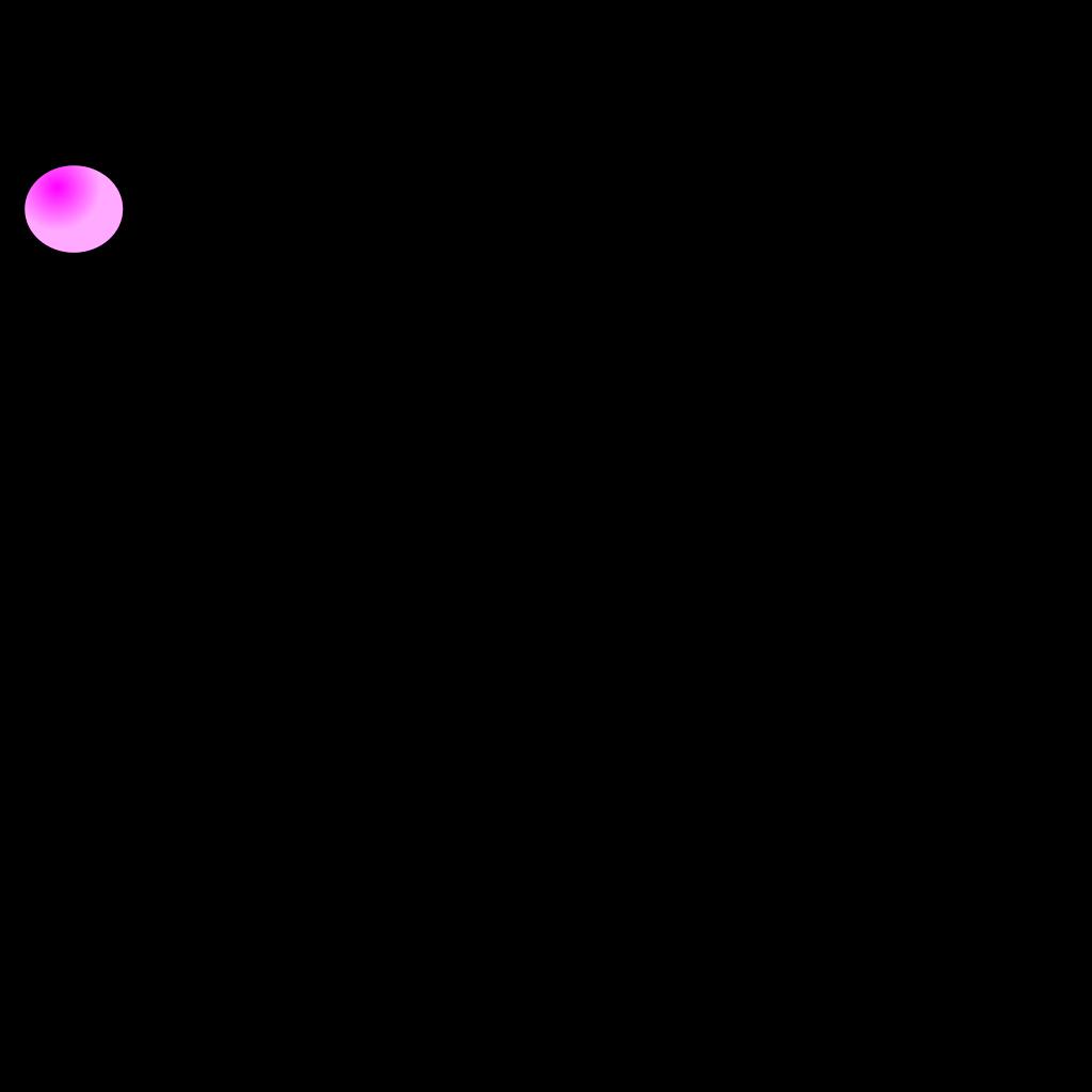 Pink Balloon SVG Clip arts