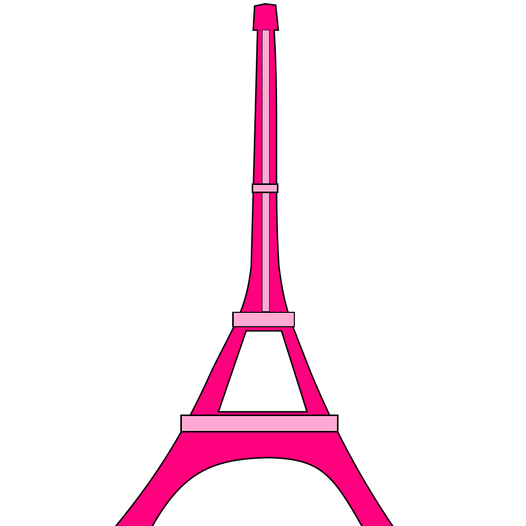 Castle Tower SVG Clip arts