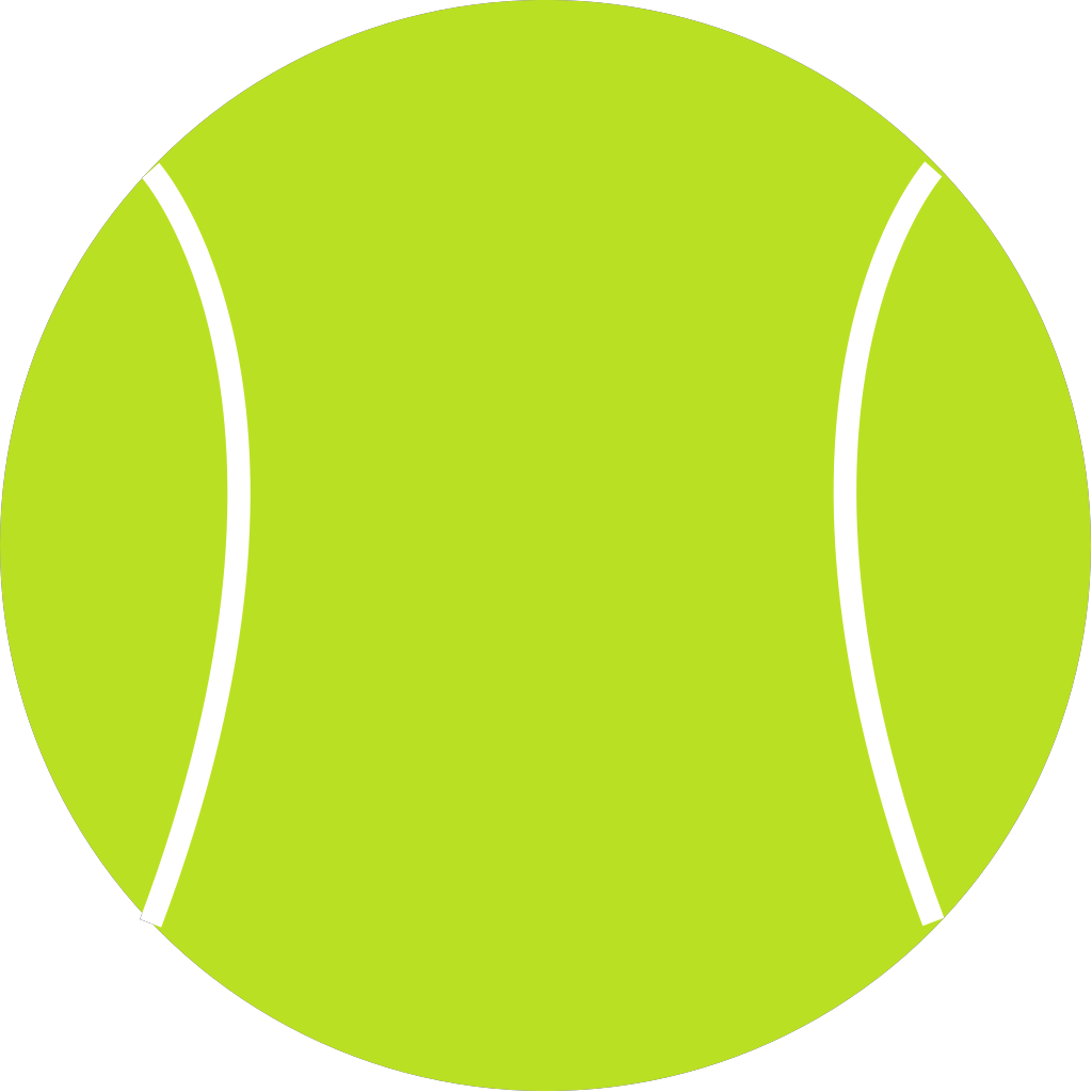 Tennis Ball SVG Clip arts