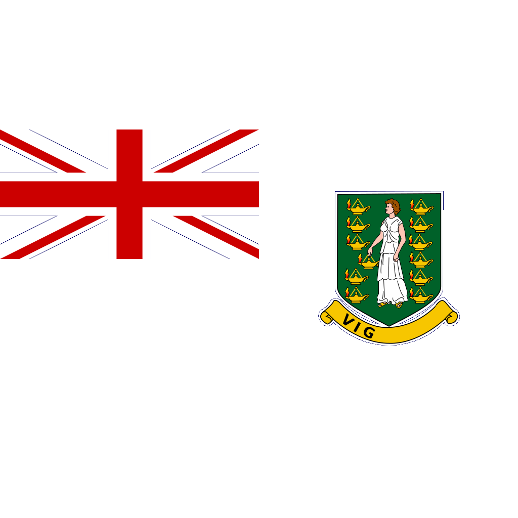British Virgin Islands SVG Clip arts
