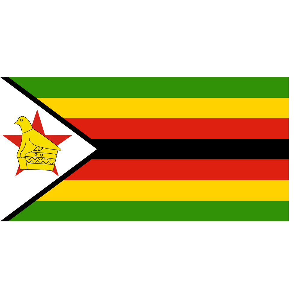 Zimbabwe SVG Clip arts