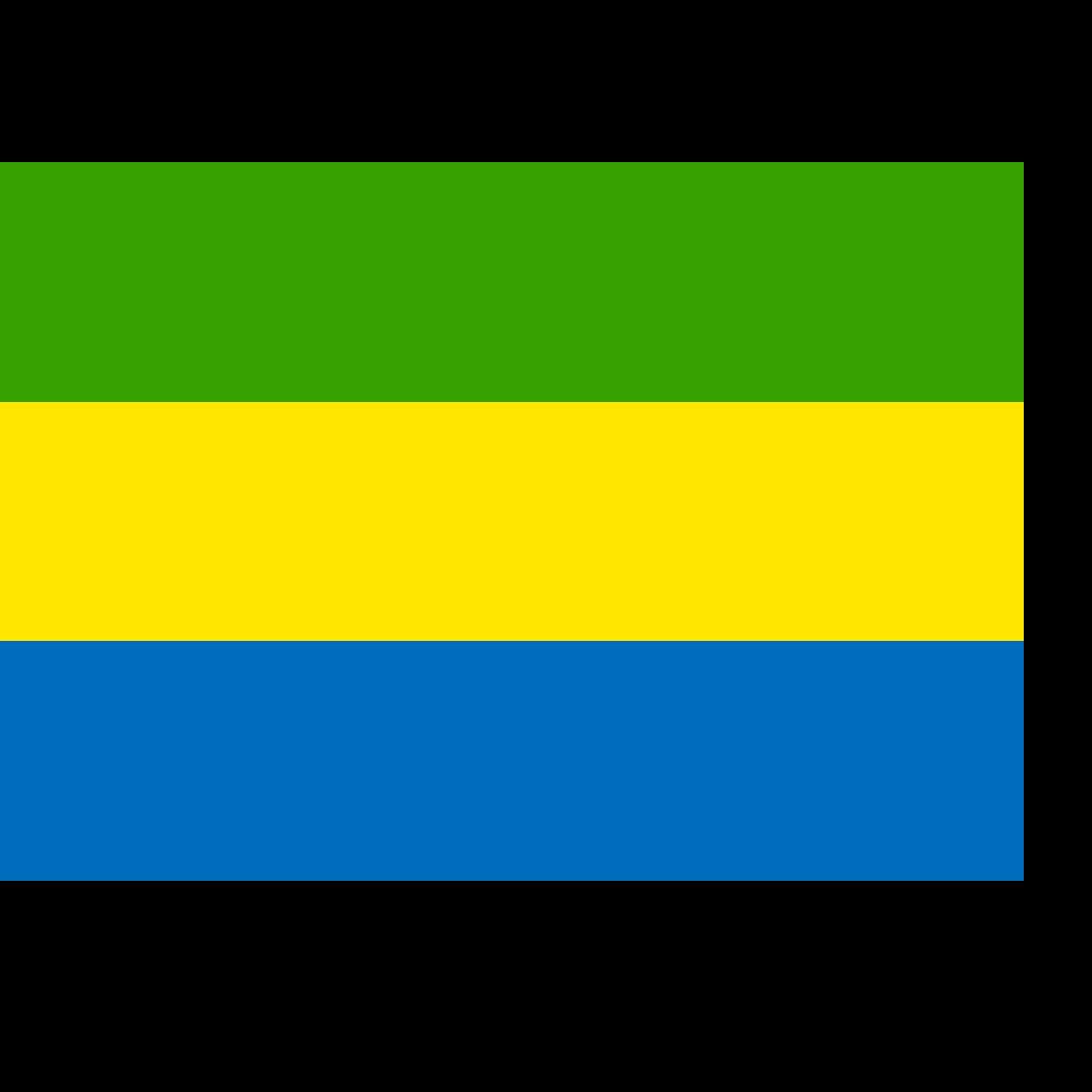 Gabon SVG Clip arts