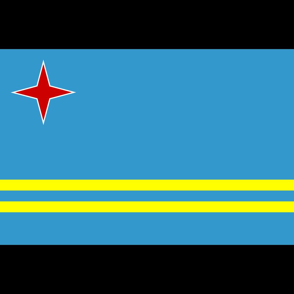 Aruba SVG Clip arts