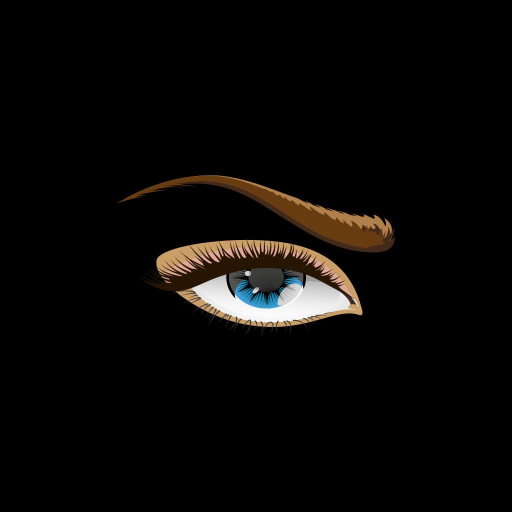 Human Eye 2 SVG Clip arts