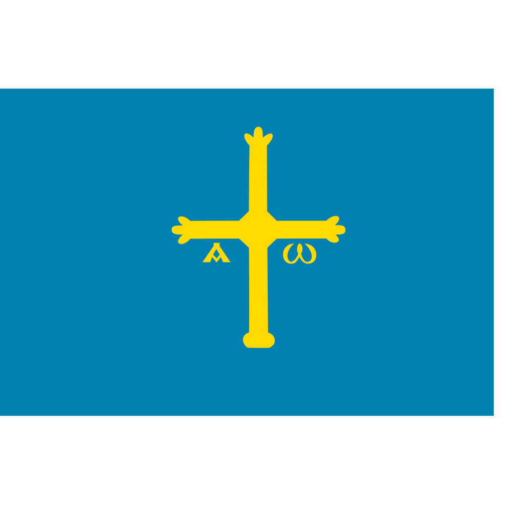 Spain - Asturias SVG Clip arts
