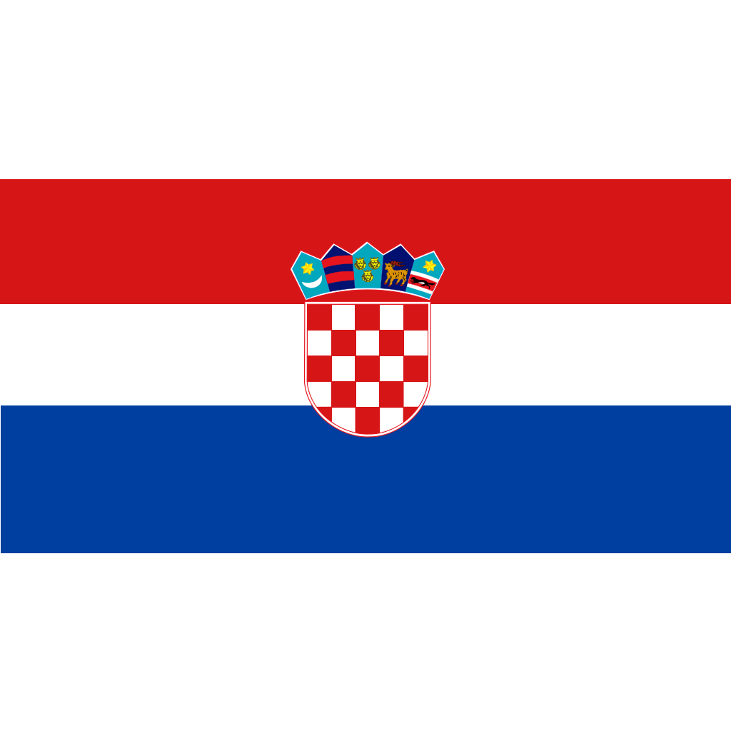 Flag Of Croatia SVG Clip arts