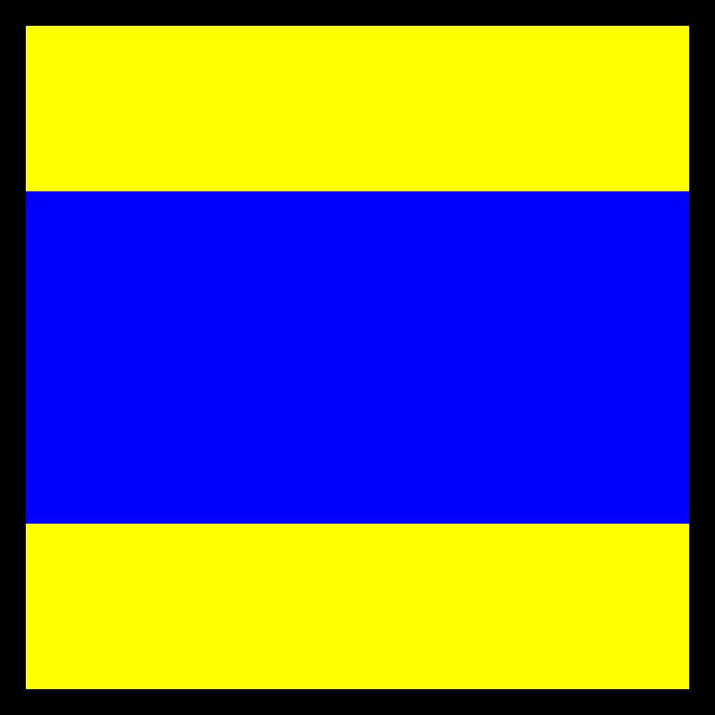 Signal Flag Delta SVG Clip arts