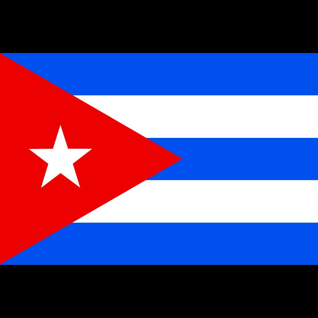 Flag Of Cuba SVG Clip arts