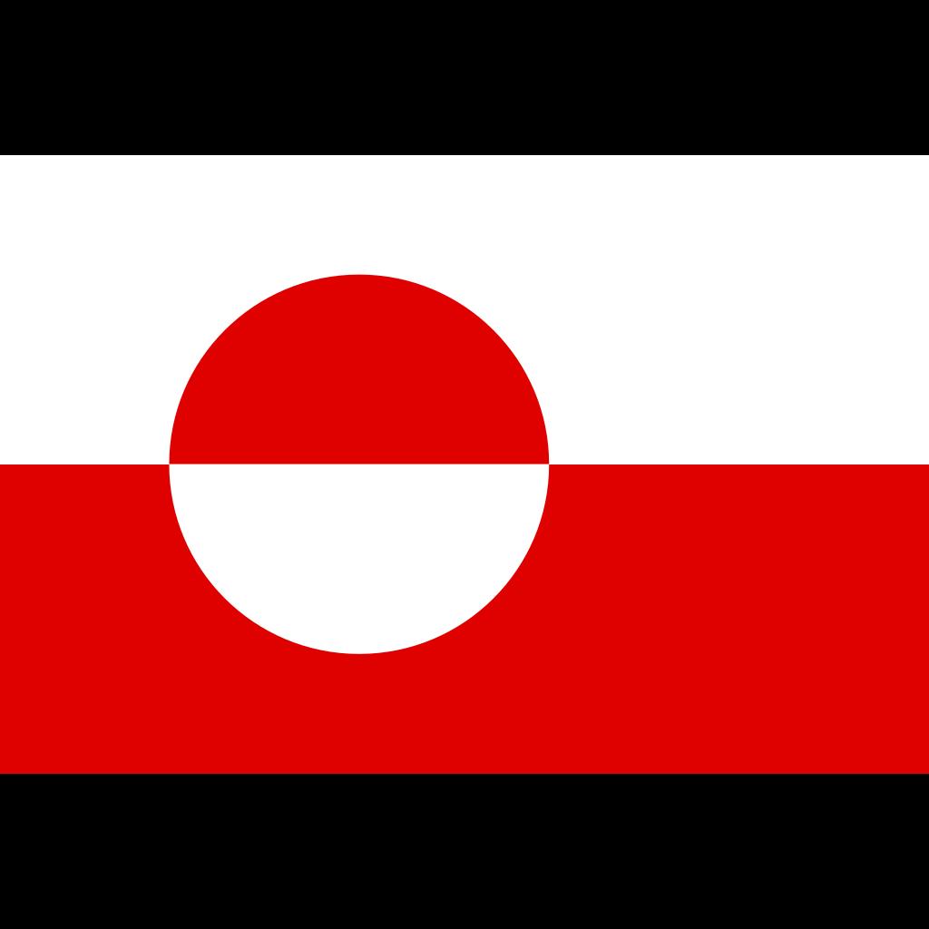 Proposed Flag Of Greenland Sven Tito Achen Design SVG Clip arts