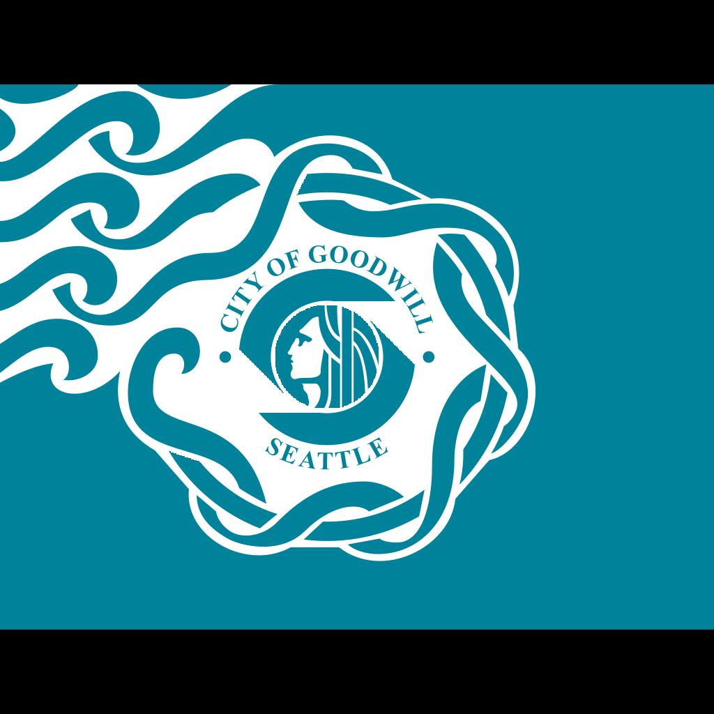Flag Of Seattle SVG Clip arts