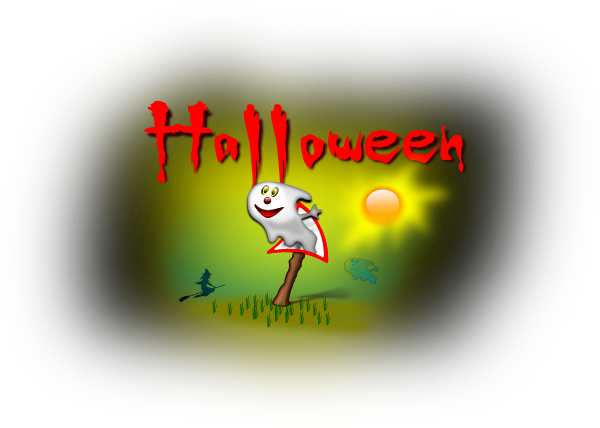 Halloween Abstract Drawing SVG Clip arts