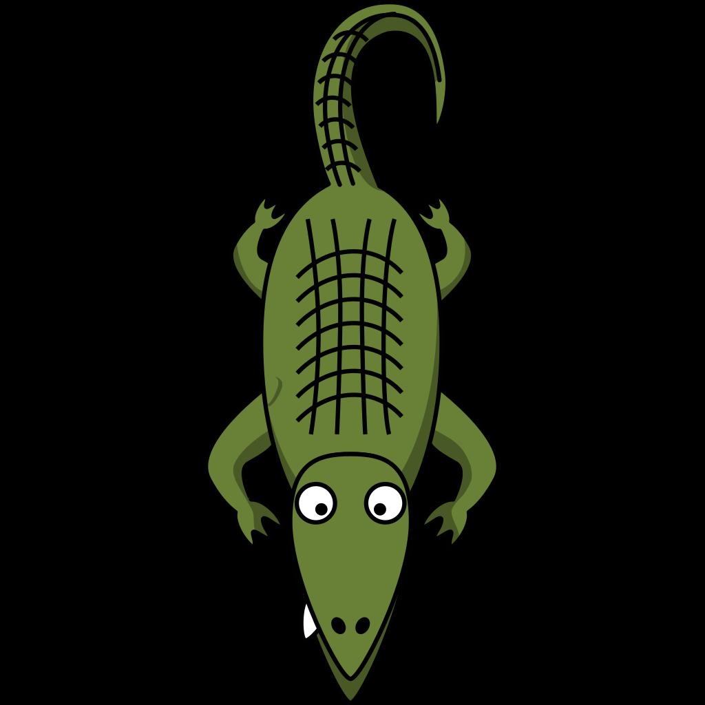 Alligator  SVG Clip arts