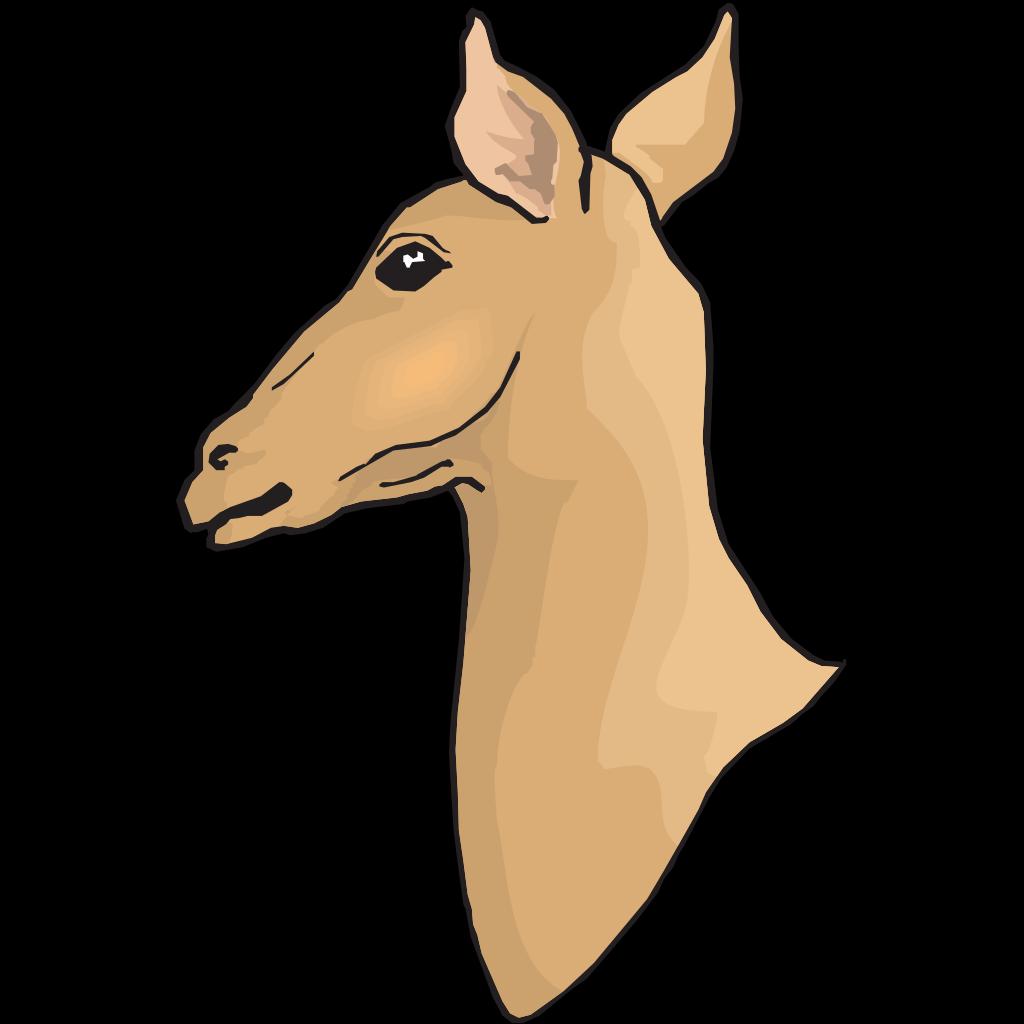 Deer Head Silhouette Png Clipart (#2897725) - PikPng