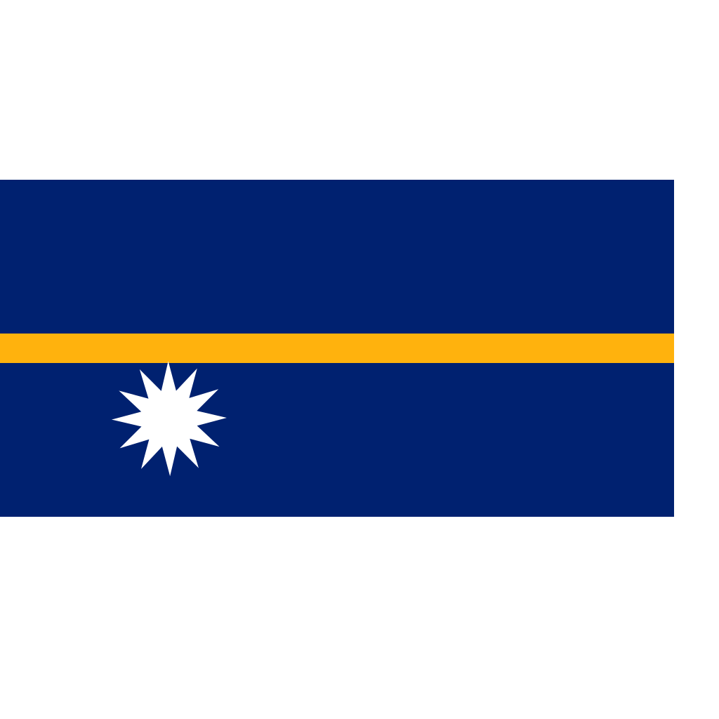 Nauru Flag SVG Clip arts