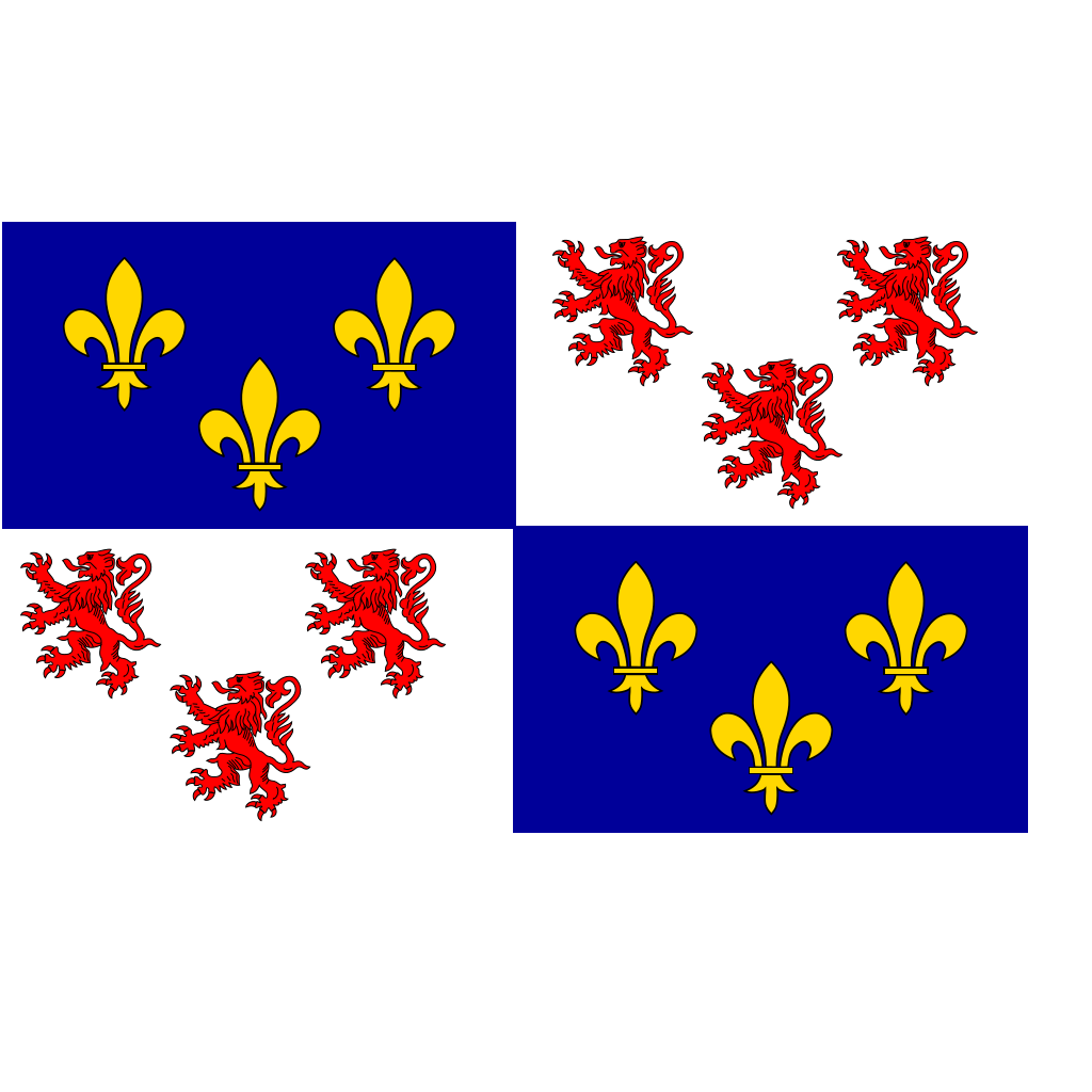 Flag Of Picardie SVG Clip arts