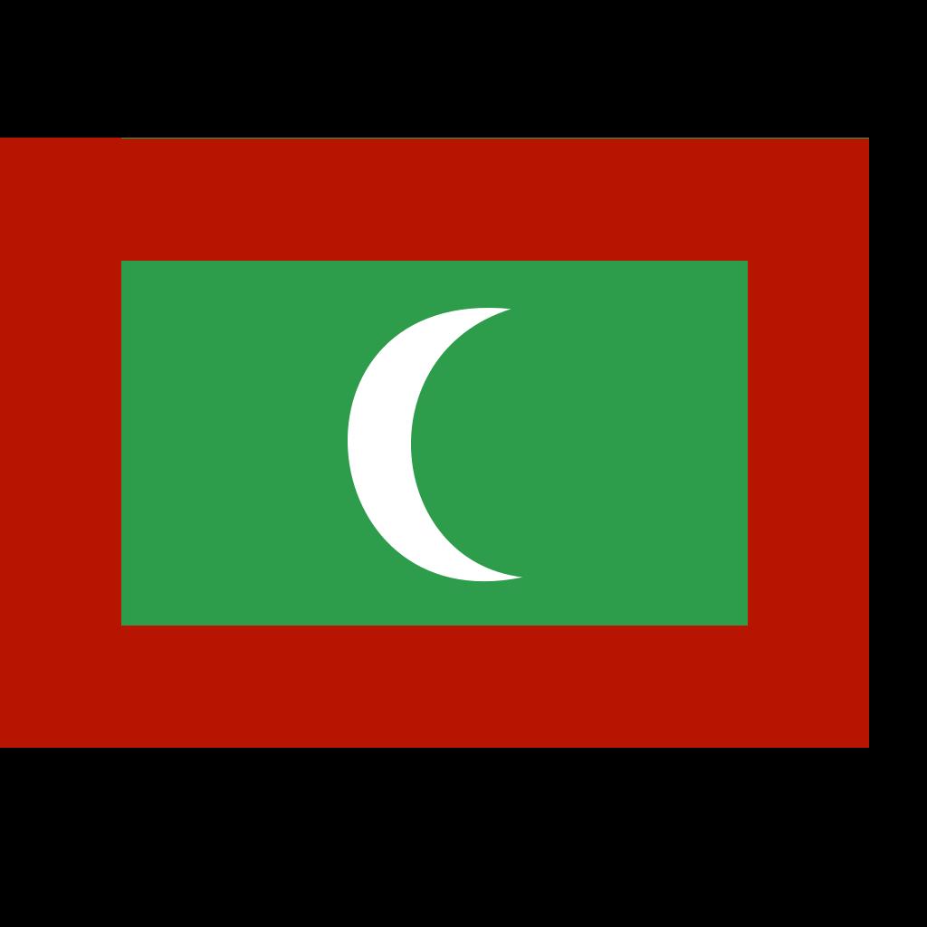 Flag Of Maldives SVG Clip arts