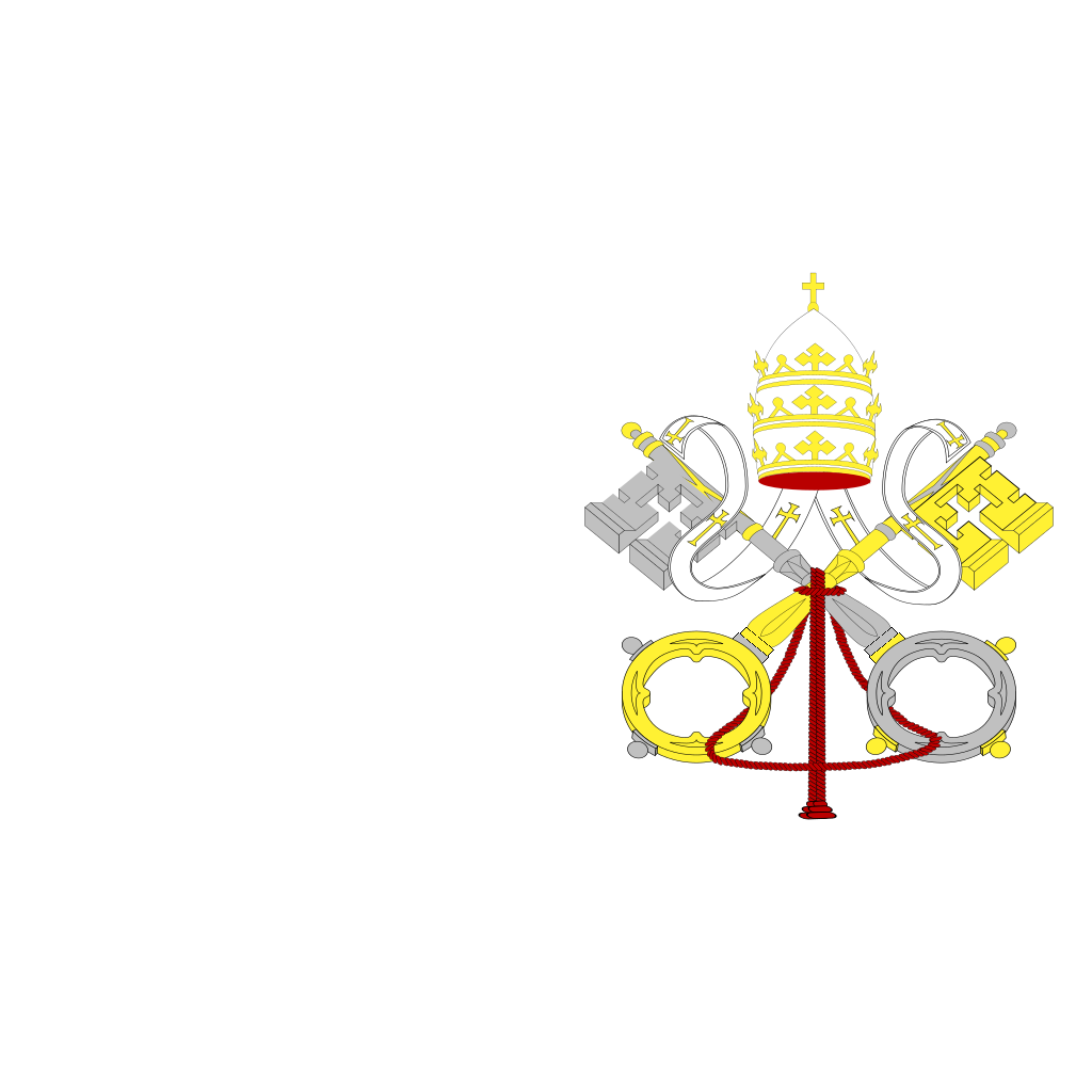 Flag Of Vatican City SVG Clip arts