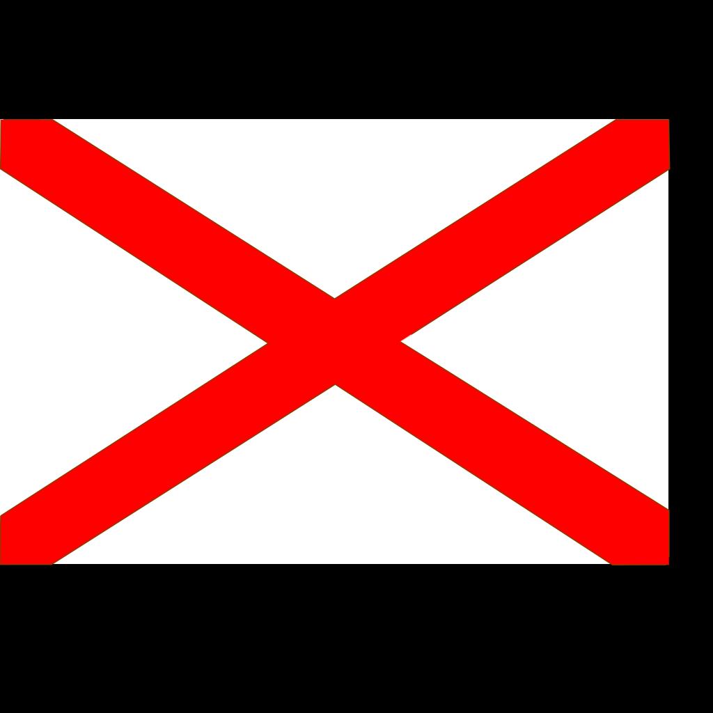 Flag Of Alabama SVG Clip arts