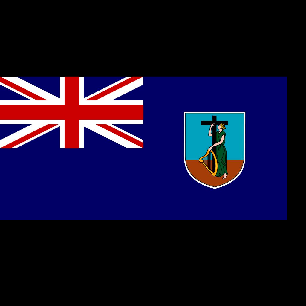 Flag Of Montserrat SVG Clip arts