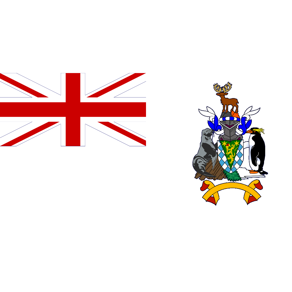 Flag Of South Georgia And South Sandwich Islands SVG Clip arts