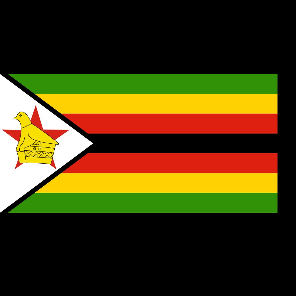 Flag Of Zimbabwe SVG Clip arts