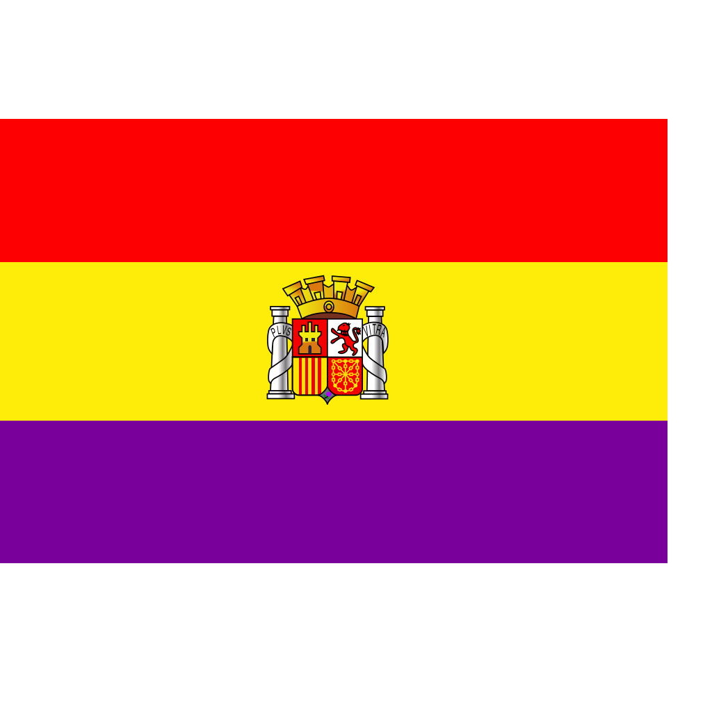 Flag Of The Second Spanish Republic SVG Clip arts