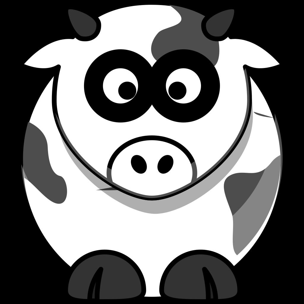 Cow 2 SVG Clip arts