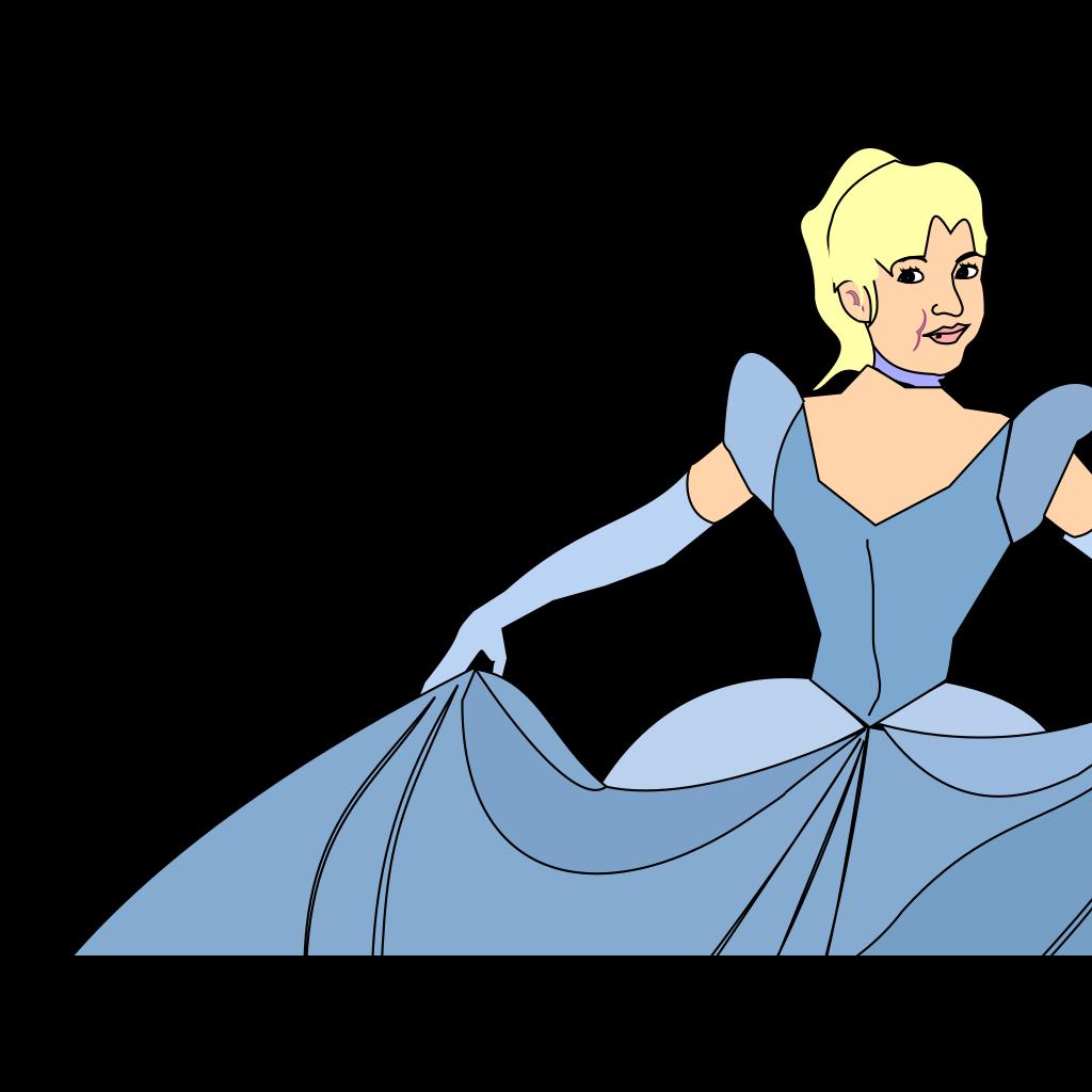 Princess SVG Clip arts
