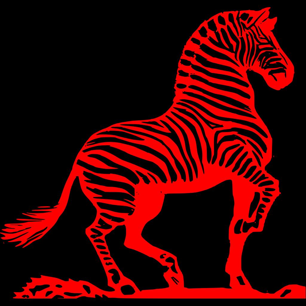 Zebra svg