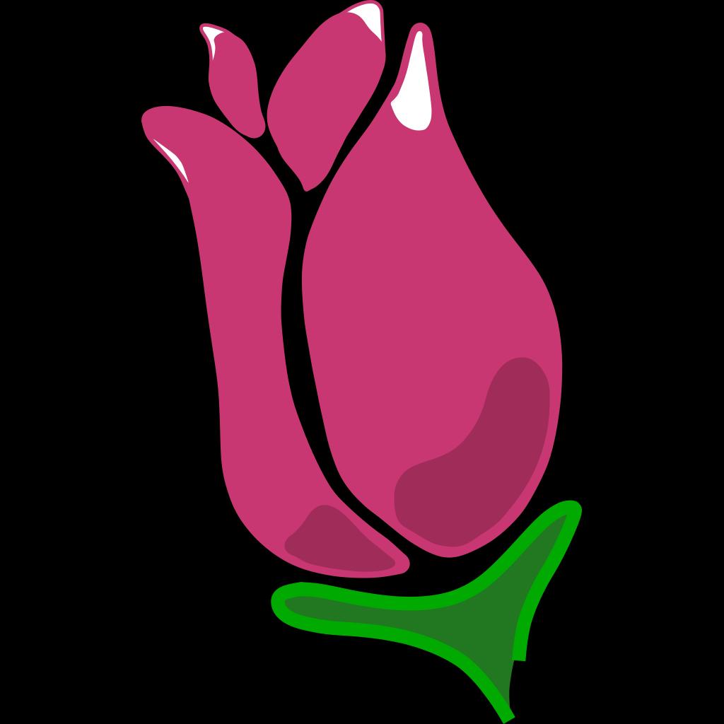 Happy Rose SVG Clip arts