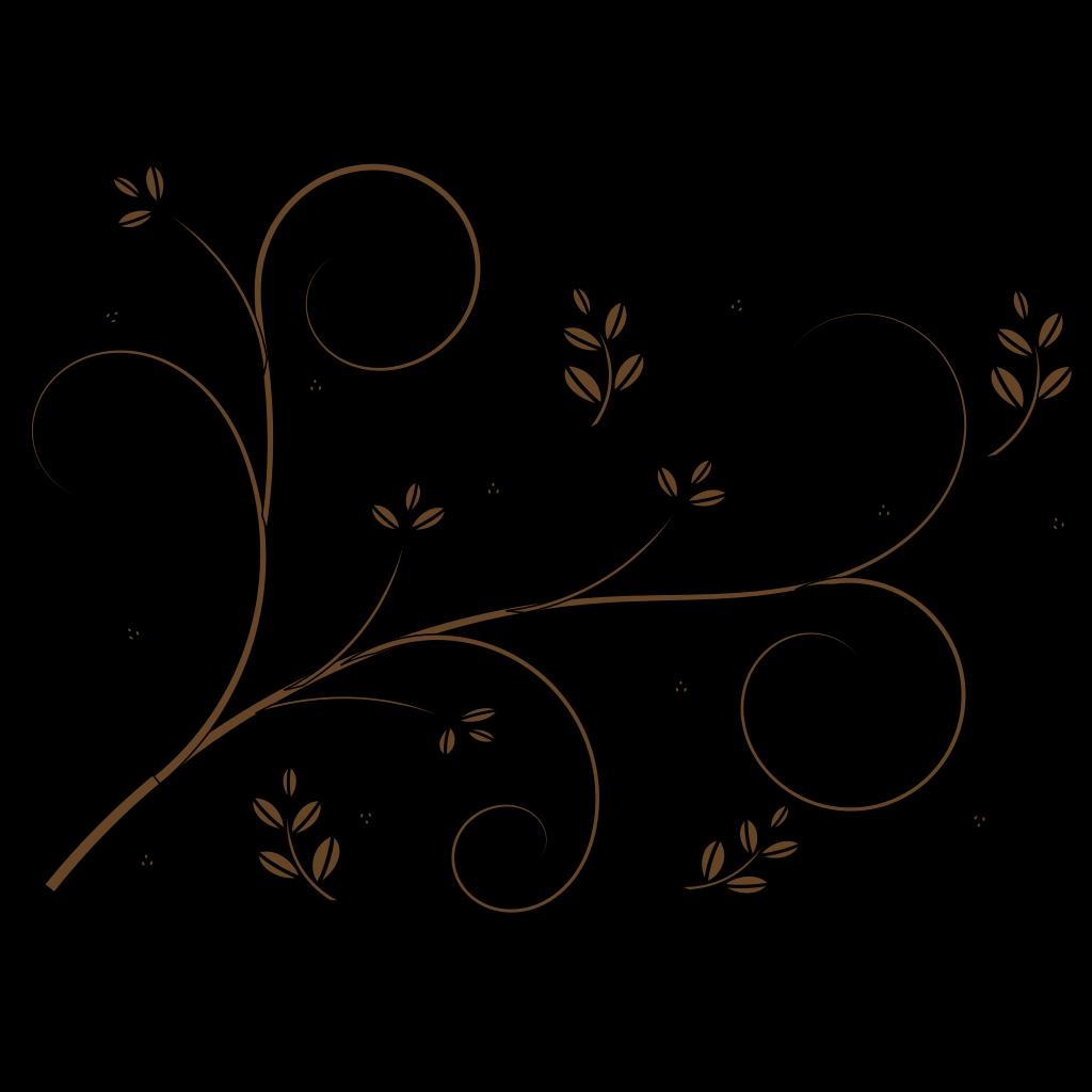 Kate Floral Border SVG Clip arts