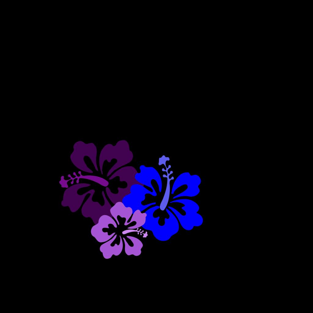 Hibiscus 23 SVG Clip arts