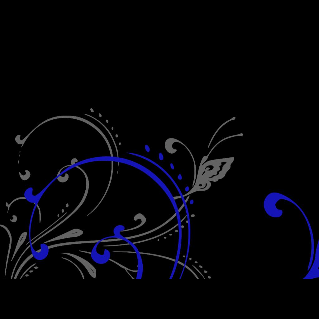 Butterfly Scroll SVG Clip arts