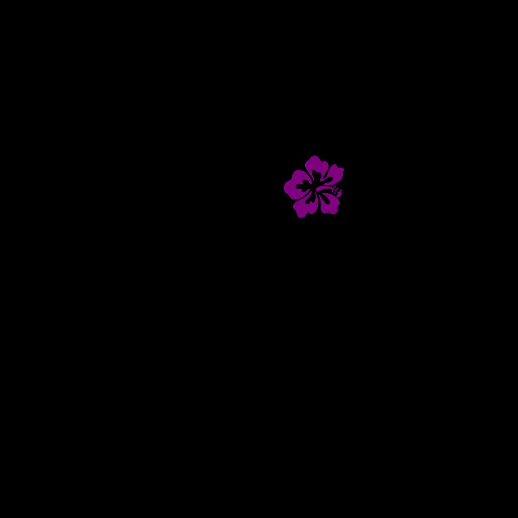 Hibiscus2 SVG Clip arts