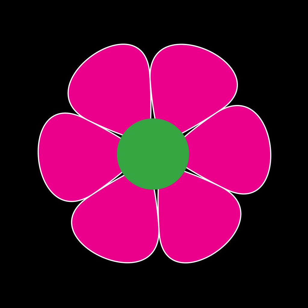 Flowerpower SVG Clip arts