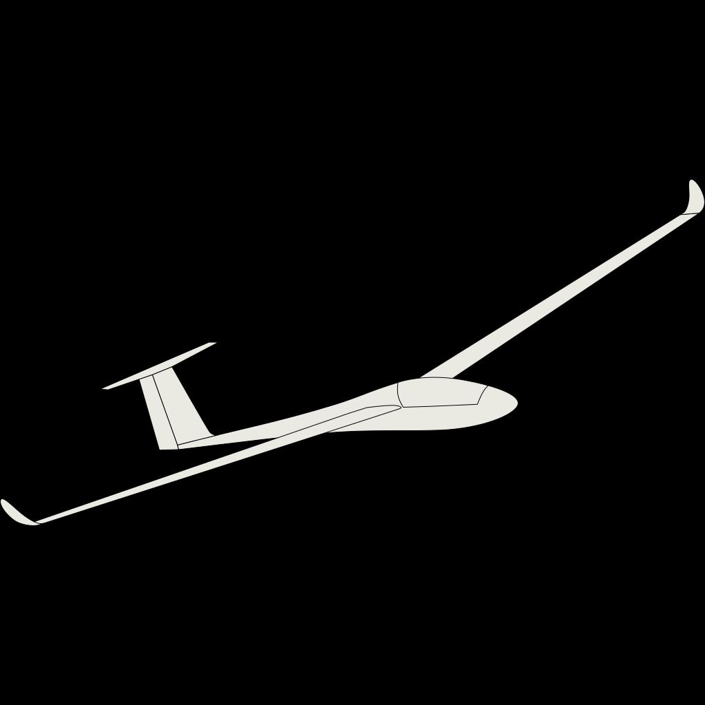 Hang Glider 2 SVG Clip arts