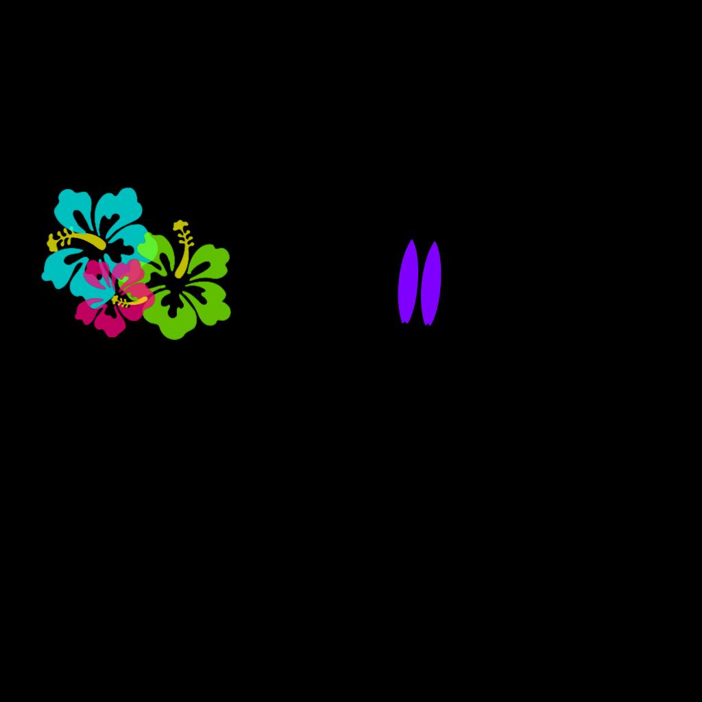 Hibiscus SVG Clip arts