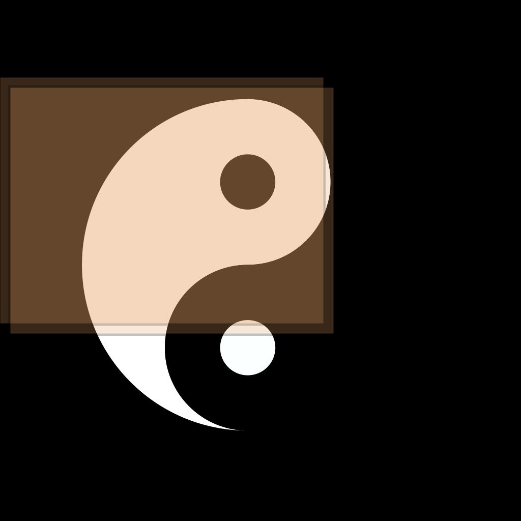 Yin Yang SVG Clip arts