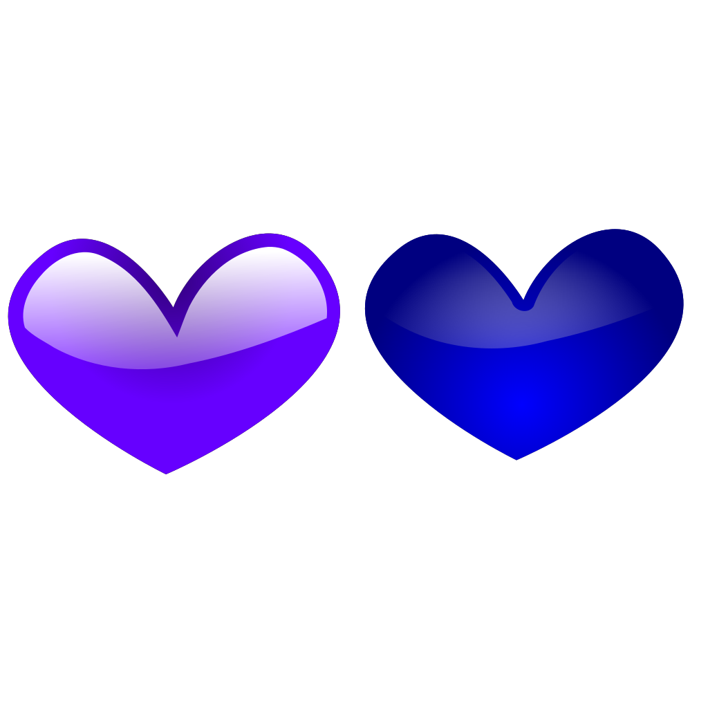 Blue Hearts svg