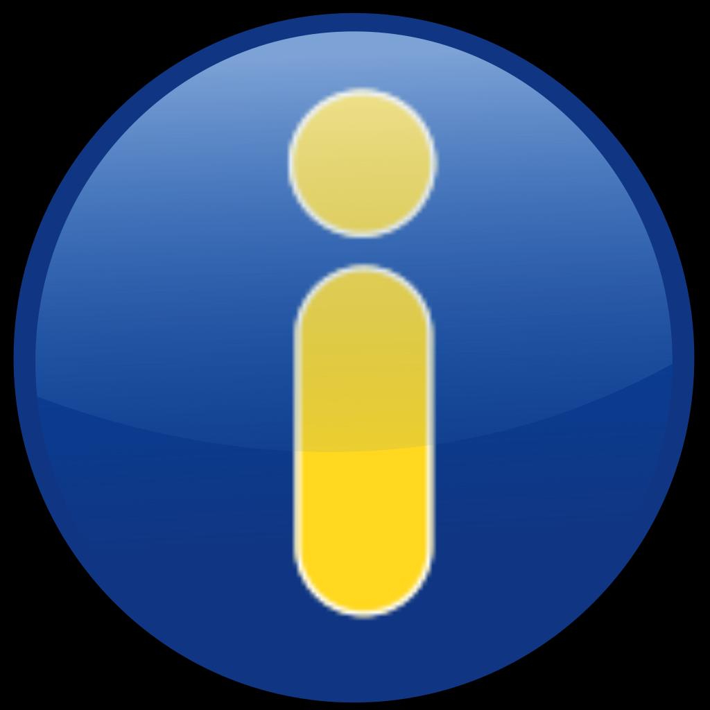 Info Blue SVG Clip arts