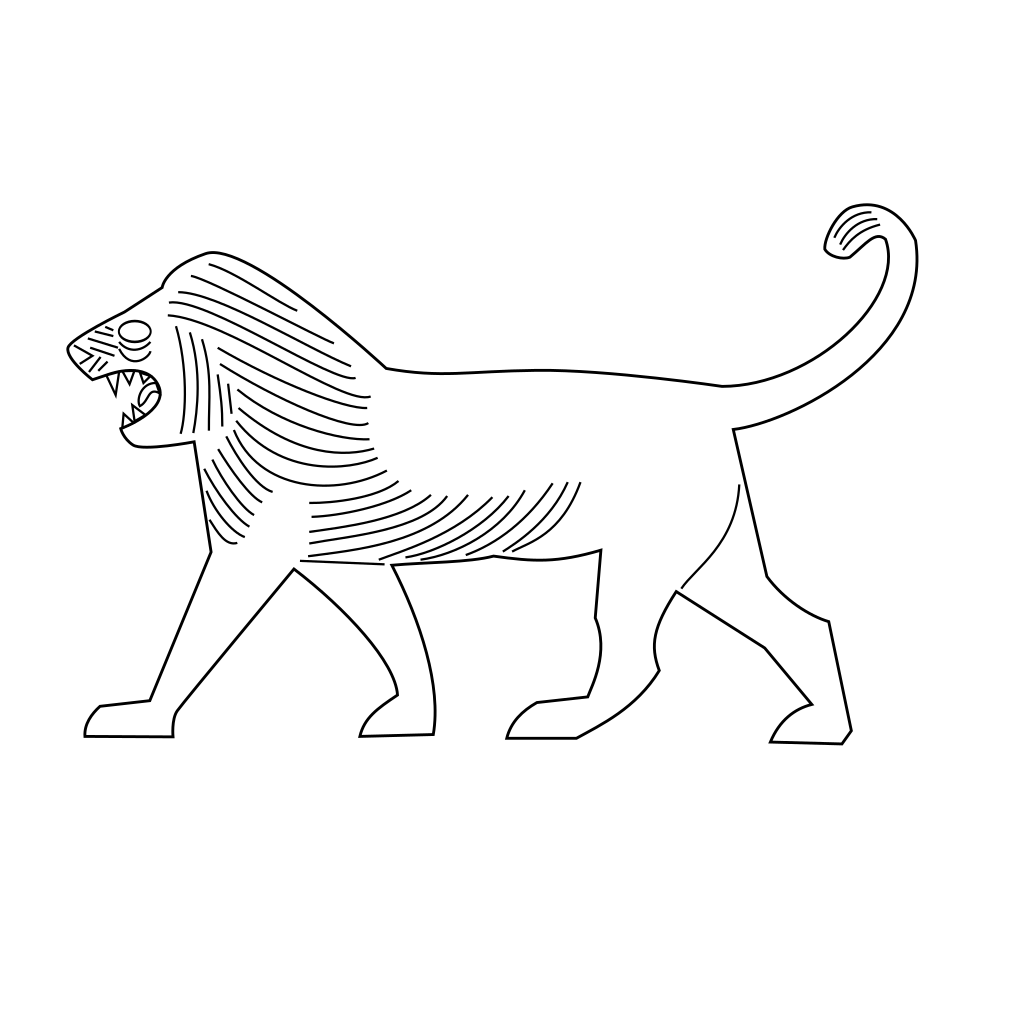 Lion Outline Svg / Download this free icon about lion head side view outline, and discover more than 10 million professional graphic resources on freepik.