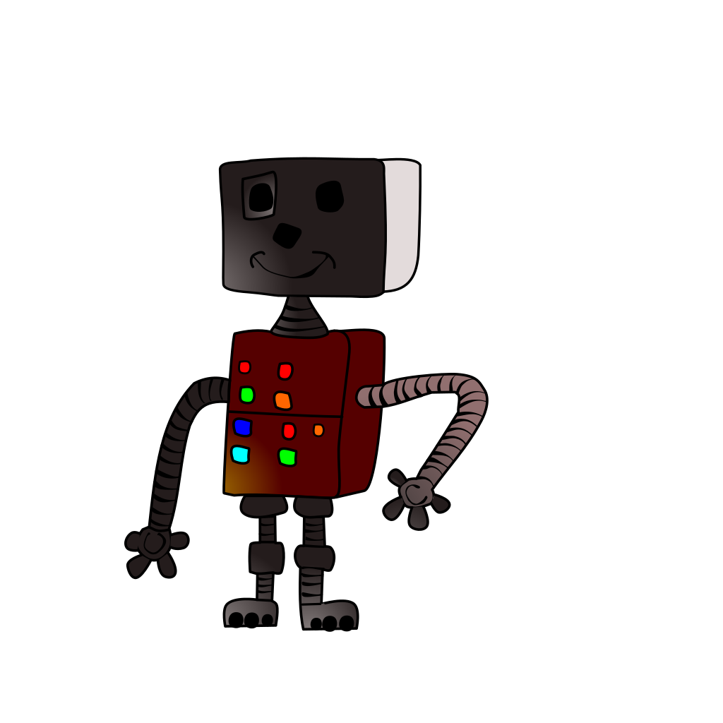 Robot Walker svg