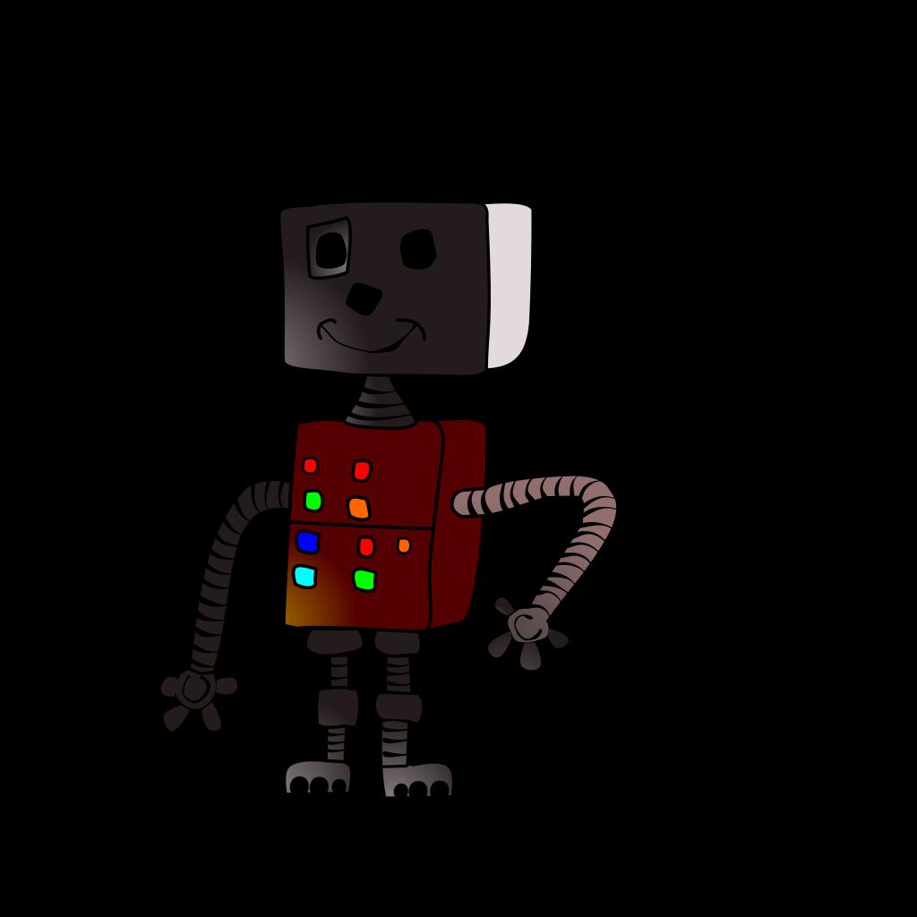 Robot Walker SVG Clip arts