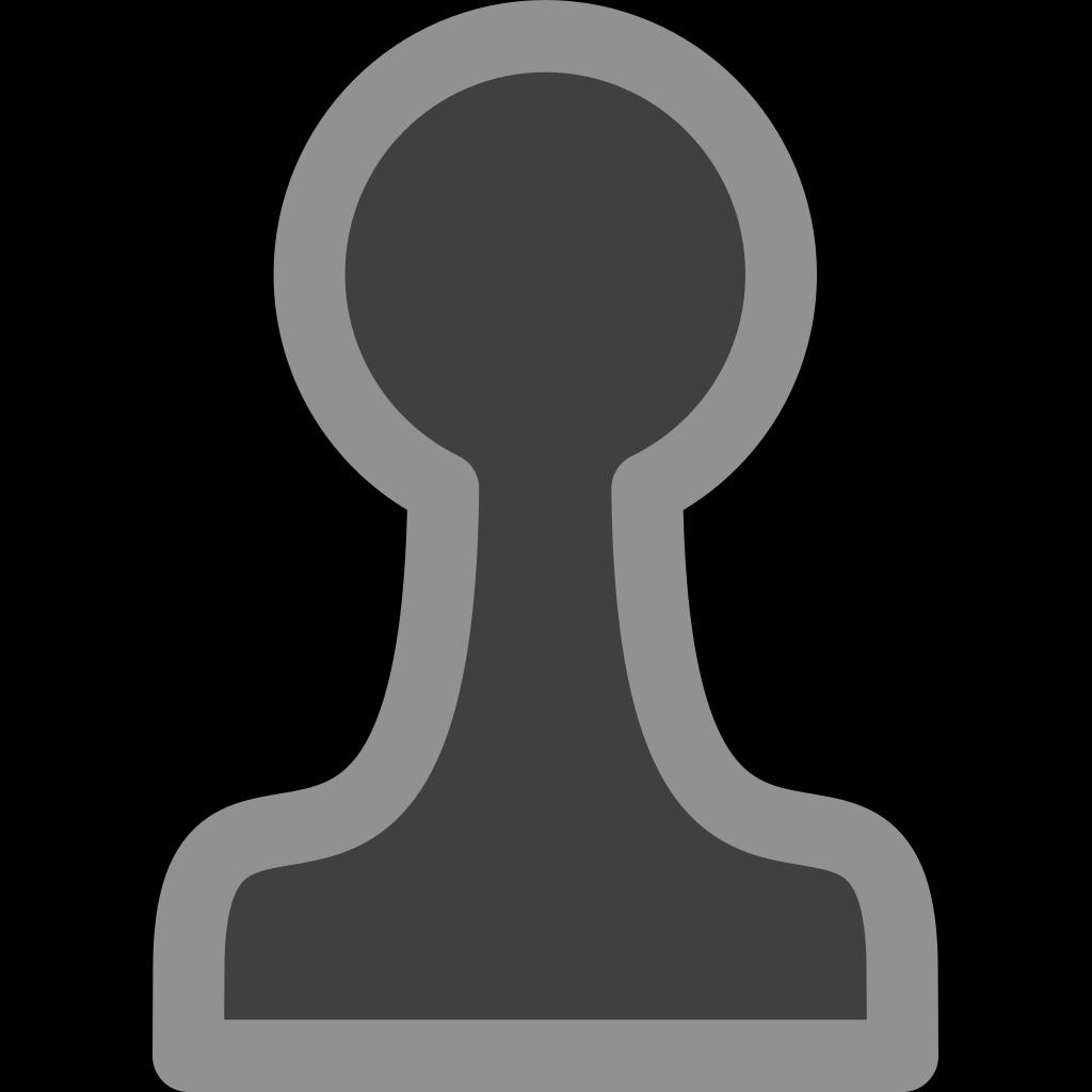 Chess Pawn Black SVG Clip arts