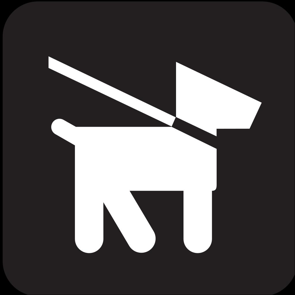 Keep Dogs On Leash SVG Clip arts